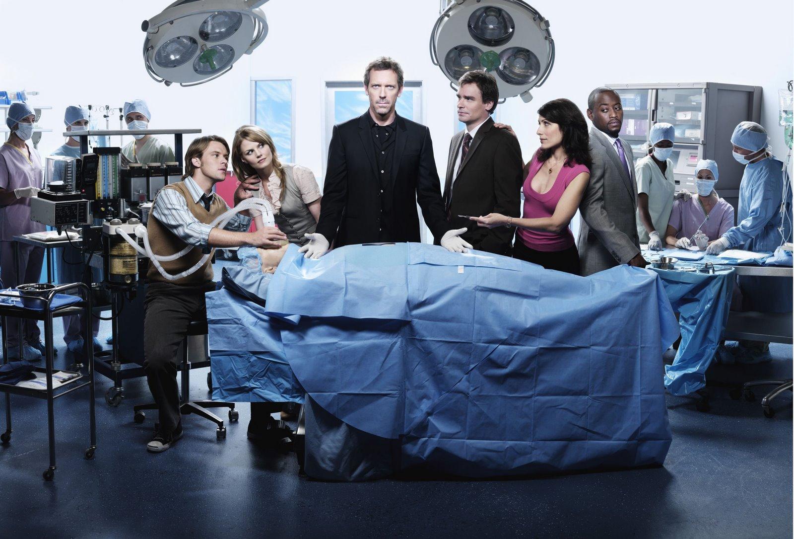 Personajes de la serie Dr. House.