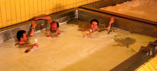 piscina de cerveza