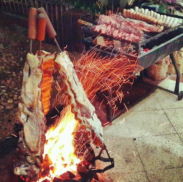 asado carne