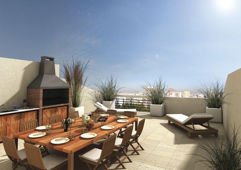 Ya ten s un quincho para tus asados fijate en estas for Casas con balcon y terraza